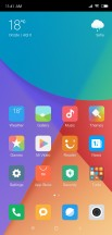 Home screen - Xiaomi Mi 8 SE review