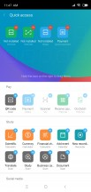 Add new shortcut to App vault - Xiaomi Mi 8 SE review