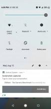 Quick toggles - Xiaomi Mi A2 Lite review