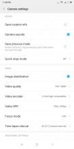 Camera settings: Video 1 - Xiaomi Mi Mix 2s review