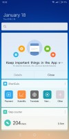 quick card - Xiaomi Redmi 5 Plus review