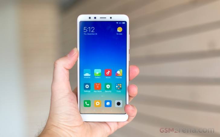 Xiaomi Redmi 5 review: Software and performance