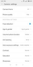 Camera settings - Xiaomi Redmi 5 review