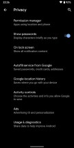 The Privacy menu and Permission manager - Android Q Beta review