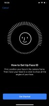 Face ID setup and settings - Apple Iphone 11 Pro and Max review