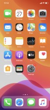 Homescreen - Apple iPhone 11 review