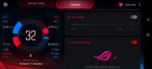 Fan controls - Asus ROG Phone II review
