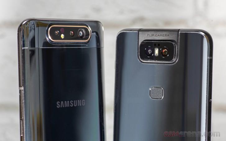 Asus Zenfone 6 vs. Samsung Galaxy A80