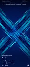 Lockscreen - Honor 9X review