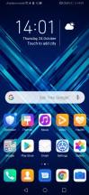 Homescreen - Honor 9X review