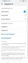 Fingerprint - Huawei P30 Pro review