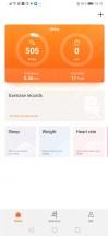 Huawei Health - Huawei P30 Pro review