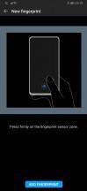 Fingerprint and face unlock settings - Huawei P30 Pro long-term review