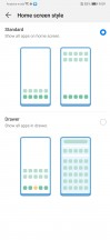 Homescreen style - Huawei P30 review
