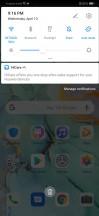 Notification area - Huawei P30 review