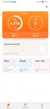 Huawei Health - Huawei P30 review
