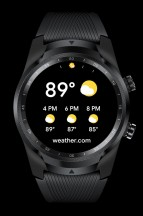 Tiles: Weather - Mobvoi TicWatch Pro 4G LTE review