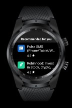 Play Store: Recommended - Mobvoi TicWatch Pro 4G LTE review