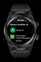 Play Store: My Apps - Mobvoi TicWatch Pro 4G LTE review