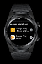 Play Store: Apps on Phone - Mobvoi TicWatch Pro 4G LTE review