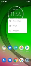 Launcher settings - Motorola Moto G7 Play review