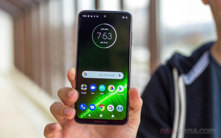 moto g7 plus android 9