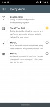 Dolby Audio settings - Motorola Moto G7 Plus review