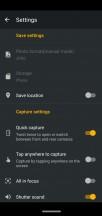 Camera menus and options - Motorola Moto G7 Plus review