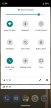 Quick toggles - Motorola Moto G7 Power review