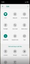 Editing Quick toggles - Motorola Moto G7 Power review