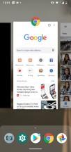 Recent apps - Motorola Moto G7 Power review