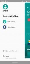Moto app - Motorola Moto G7 Power review