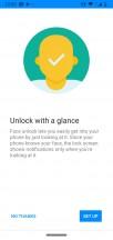Fingerprint and security options - Motorola Moto G7 Power review