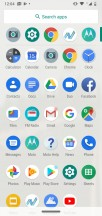 App drawer - Motorola Moto G7 Power review