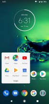Folder view - Motorola Moto G8 Plus review