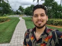Selfies by the Moto Z4 - f/2.0, ISO 100, 1/1171s - Motorola Moto Z4 review
