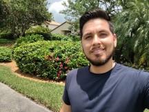 Selfies by the Moto Z4 - f/2.0, ISO 100, 1/1206s - Motorola Moto Z4 review