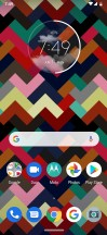 Homescreen - Motorola Moto Z4 review