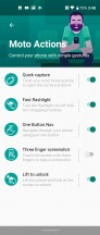 Peek Display - Motorola One Action review