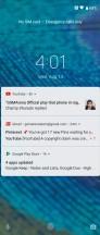 Lockscreen - Motorola One Action review