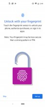 Biometrics - Motorola One Action review