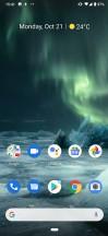 Homescreen - Nokia 7.2 review