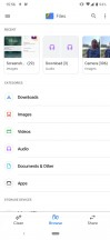 File manager - Nokia 7.2 review