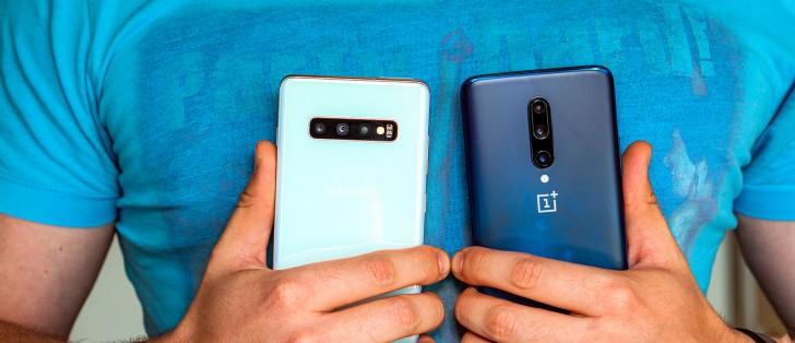 OnePlus 7 Pro vs  Samsung Galaxy S10+ - GSMArena com tests