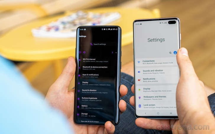 Oneplus 7 Pro vs. Samsung Galaxy S10 Plus