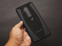 The Alcantara McLaren Protective case - Oneplus 7t Pro Mclaren Edition Handson review