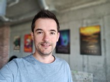 Selfie portraits - f/2.0, ISO 128, 1/50s - Realme 3 Pro review