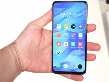 In the hand - Realme X review