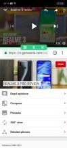 Split screen - Realme X review