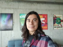 Selfies: Portrait - f/2.0, ISO 400, 1/33s - Realme X2 Pro review